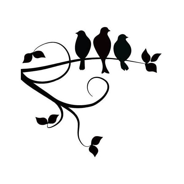 600x600 Best Photos Of Love Birds On Branch Silhouette
