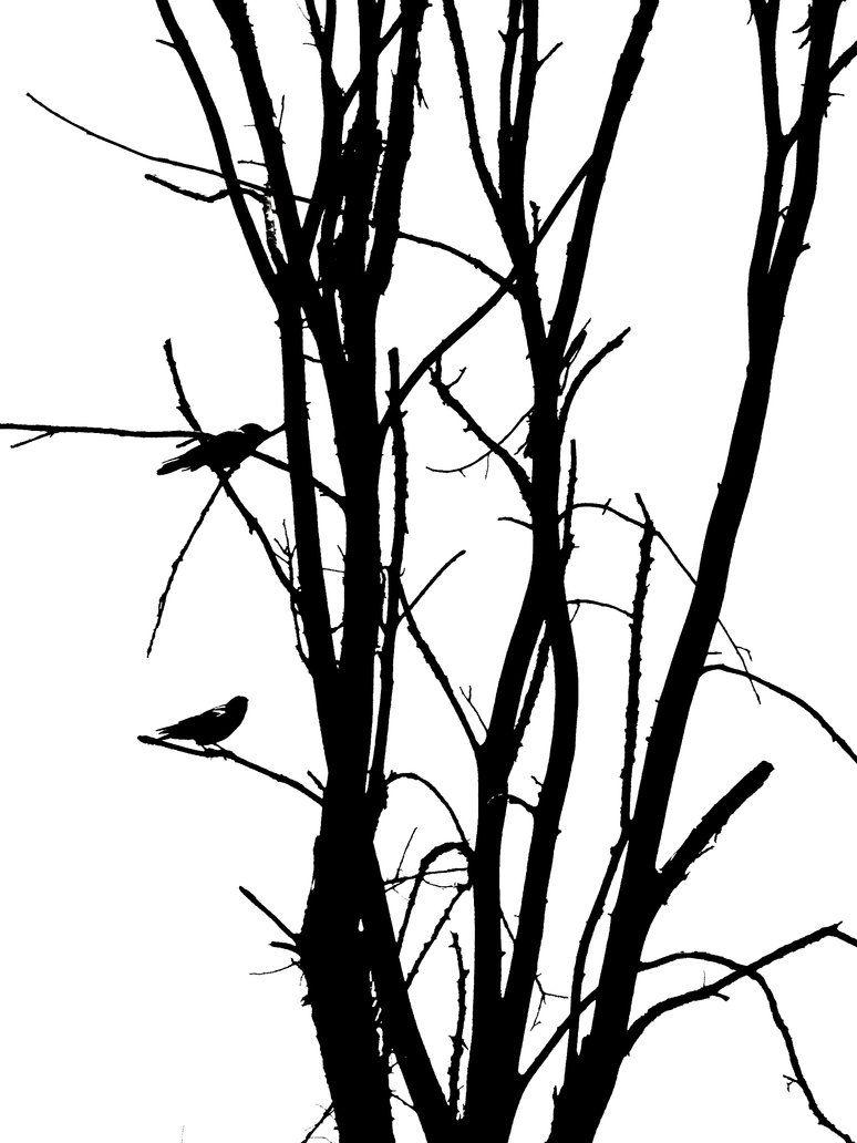 774x1032 Tree Birds Silhouette By Snapwolf On Printables