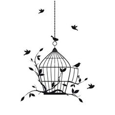 236x236 Birdcage Vectors And Clipart Filing, Creative And Silhouettes