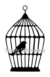 194x300 8 X Birdcage Silhouette Die Cuts, Card Toppers, Embellishments Ebay