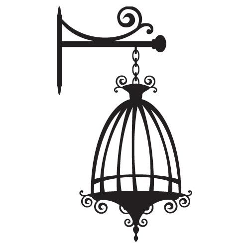 500x500 Free Empty Bird Cage Clipart