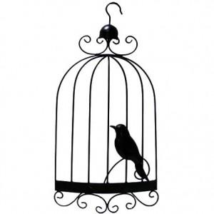 300x300 Bird Cage With Door Open Coloring Pages Bird Cage With Door Open