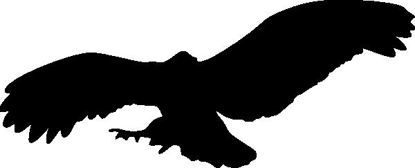 600x243 Owl Clipart Shadow