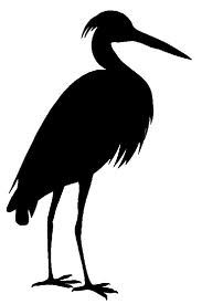 183x275 Blue Heron On Silhouette, You Left Me And Birds