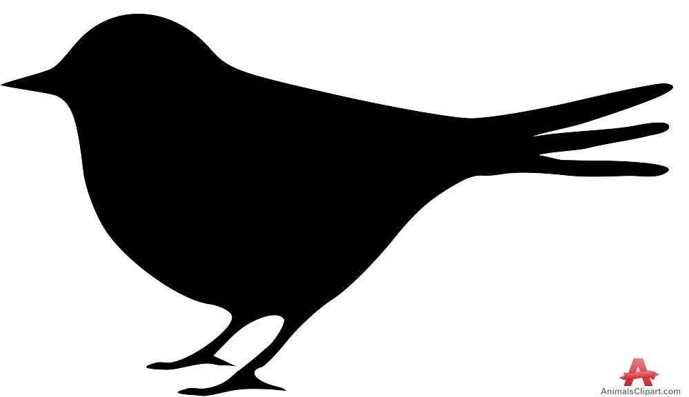 999x576 Clip Art Free Bird Silhouette 55