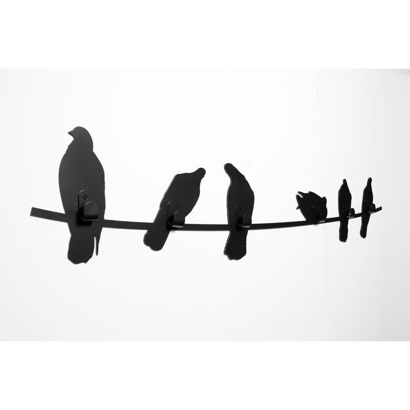 800x800 Wall Cloth Hanger Birds On Wire By Covo