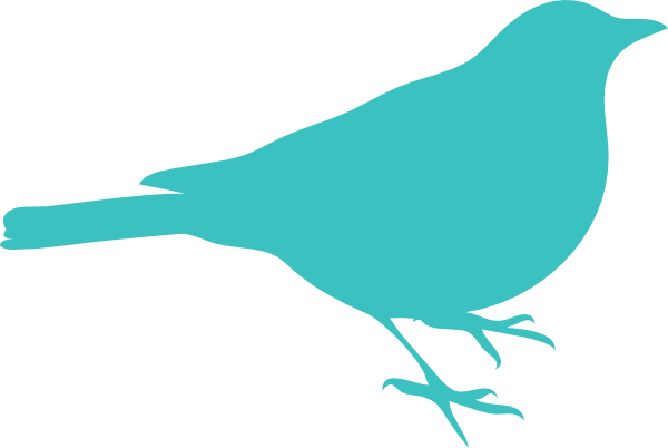 600x402 Birds On A Wire Silhouette Clipart