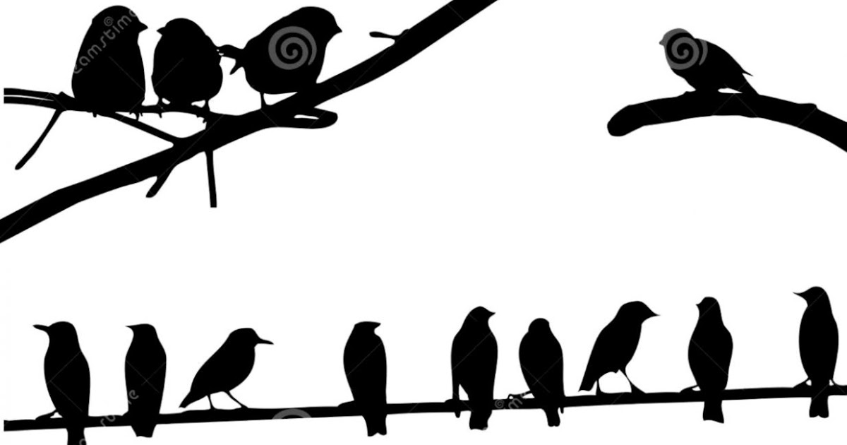 1200x630 Bird On A Wire Silhouette Clipart Wallpapers Gallery