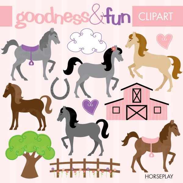 600x600 Birthday Clipart Horse
