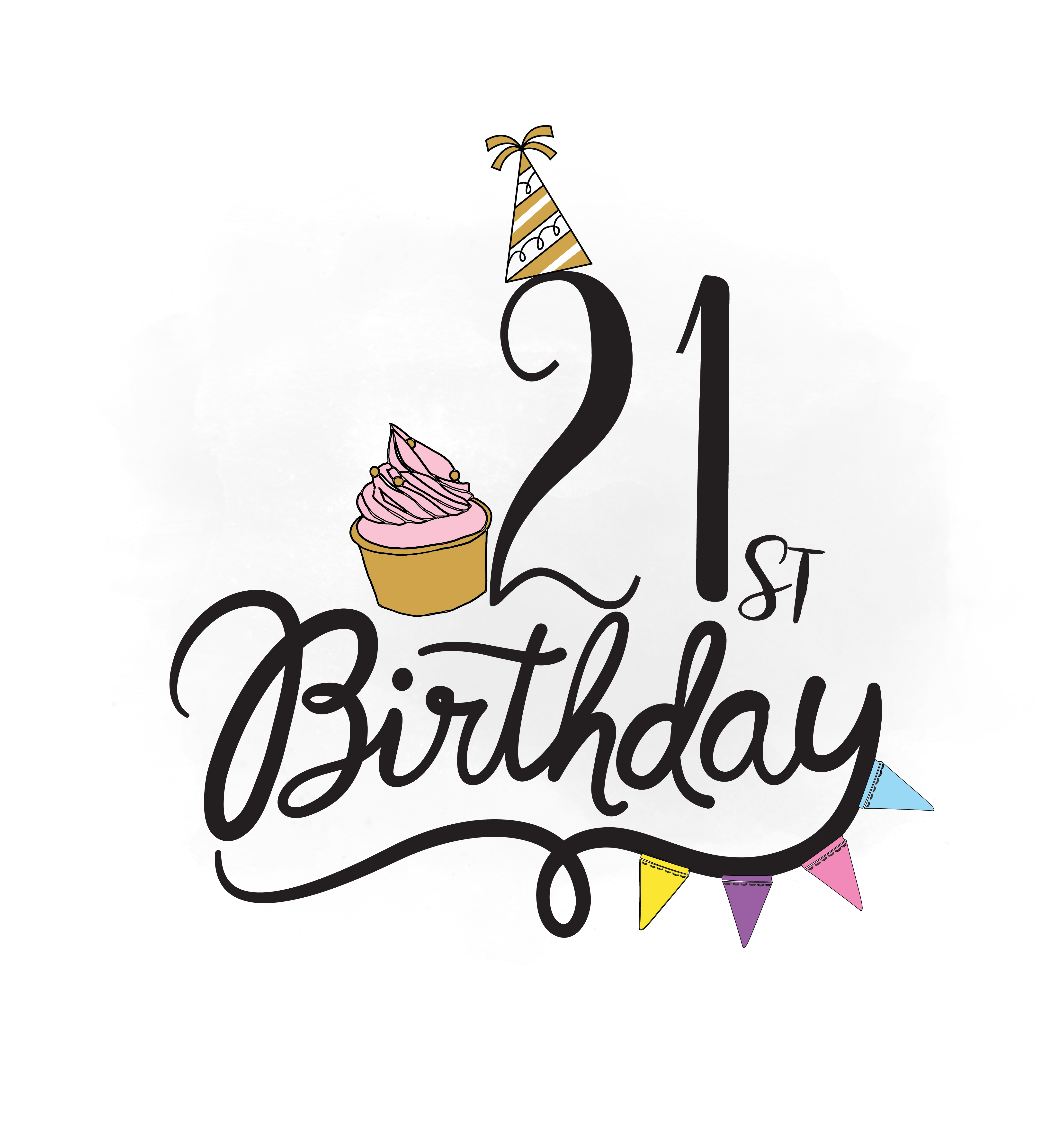 4375x4670 21st Birthday Svg Clipart, Birthday Quo Design Bundles
