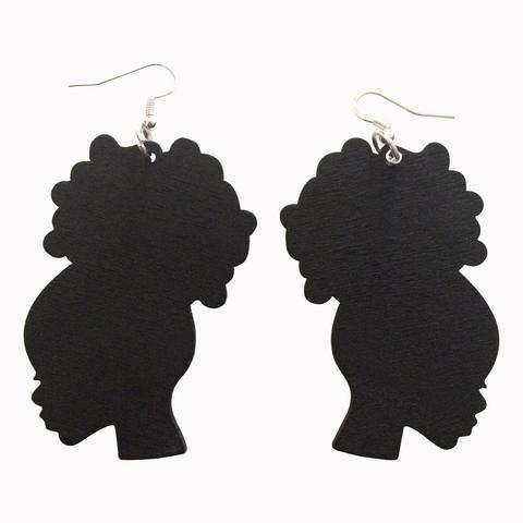 480x480 Afrocentric And Natural Hair Earrings