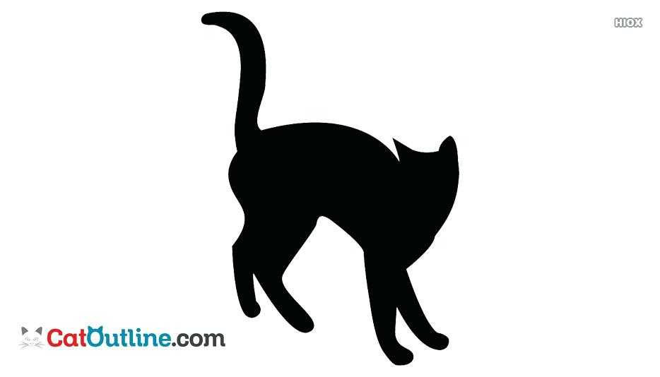 934x534 Cat Outline Black And White Cat Outline Black And White Cat