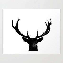 264x264 Deer Silhouette Art Prints Society6
