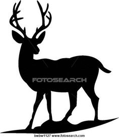 236x277 Whitetail Deer Silhouette Clipart