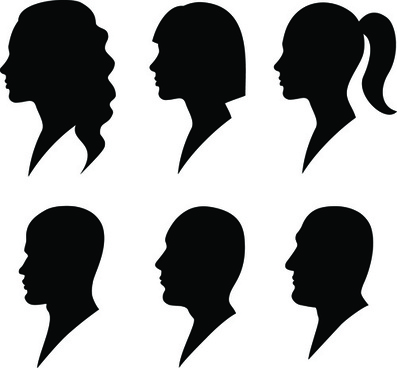 397x368 Black Man Silhouette Free Vector Download (13,191 Free Vector)
