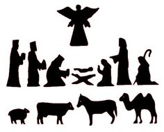 236x190 Free Silhoutte Nativity Scene Patterns Free Nativity Silhouette