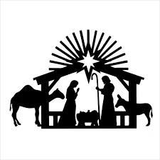 225x224 Nativity Pictures Black And White