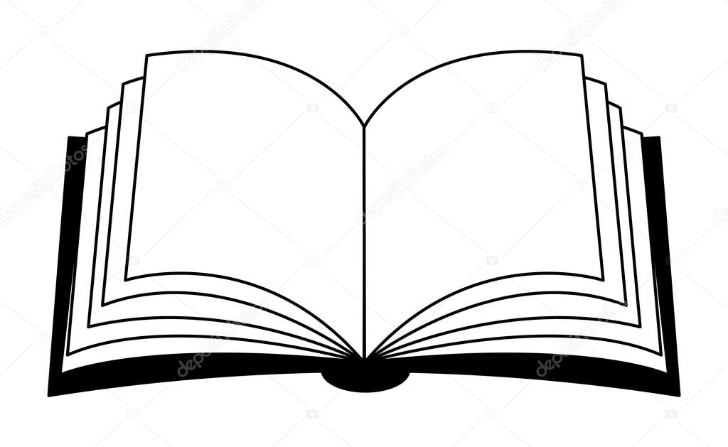 1024x629 Open Book Symbol Clip Art At Clker Com Vector Online