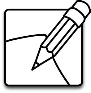 294x300 Pencil Black And White Pencil Silhouette Free Pictures Clip Art