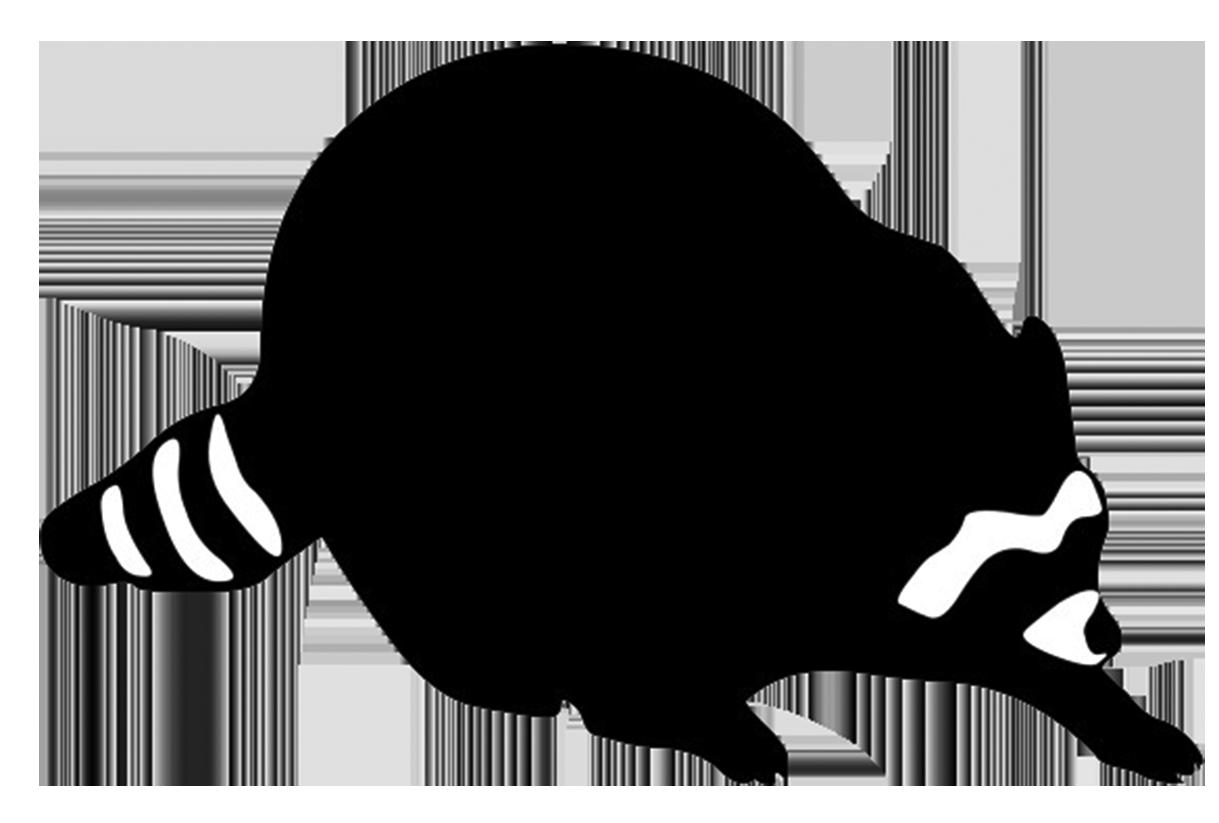 1219x823 Raccoon Silhouette Clip Art 101 Clip Art