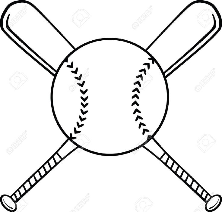 736x704 Softball And Bat Clipart