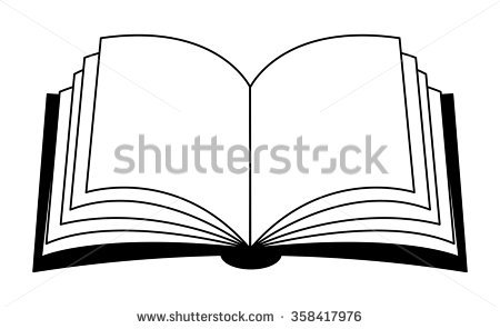 450x296 Book Design Clipart Open Vector Symbol Icon Illustration