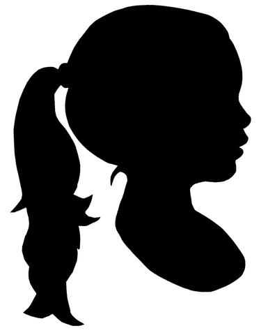 375x480 Silhouette In Black And White Sparklemonkey