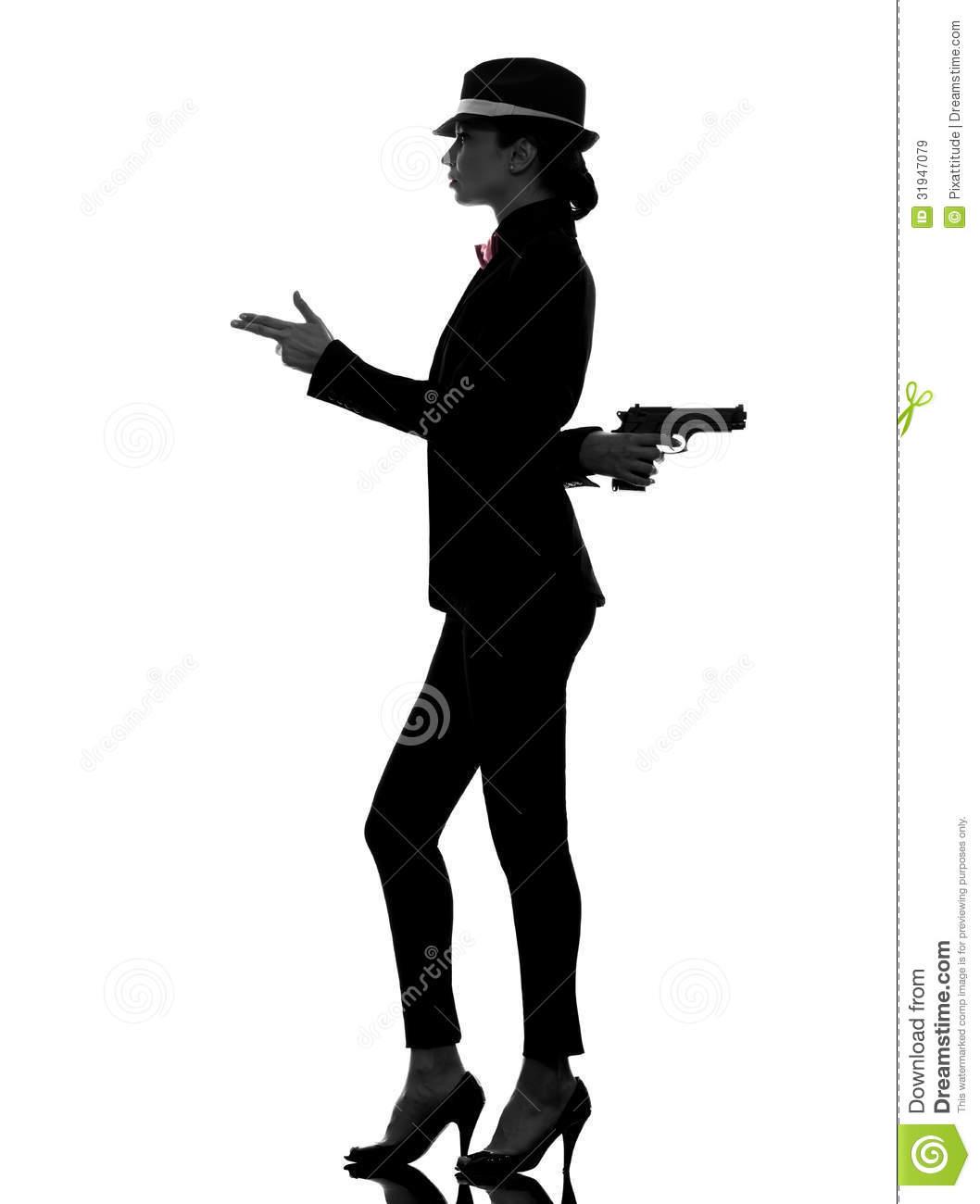 1058x1300 Gun Clipart Silhouette Woman