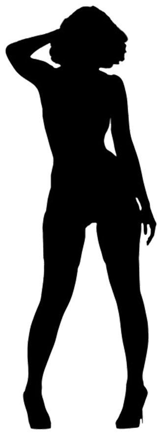 340x886 Female Silhouette