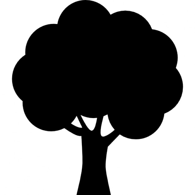 626x626 Tree Silhouette Icons Free Download