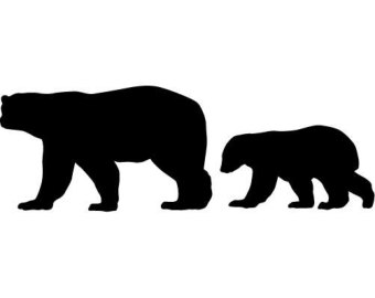 340x270 Black Bear Clipart Bear Cub