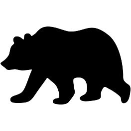 263x262 Image Result For Black Bear Silhouette Wood Projects
