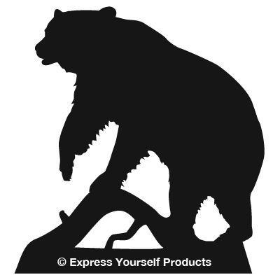 400x400 Bear Silhouette