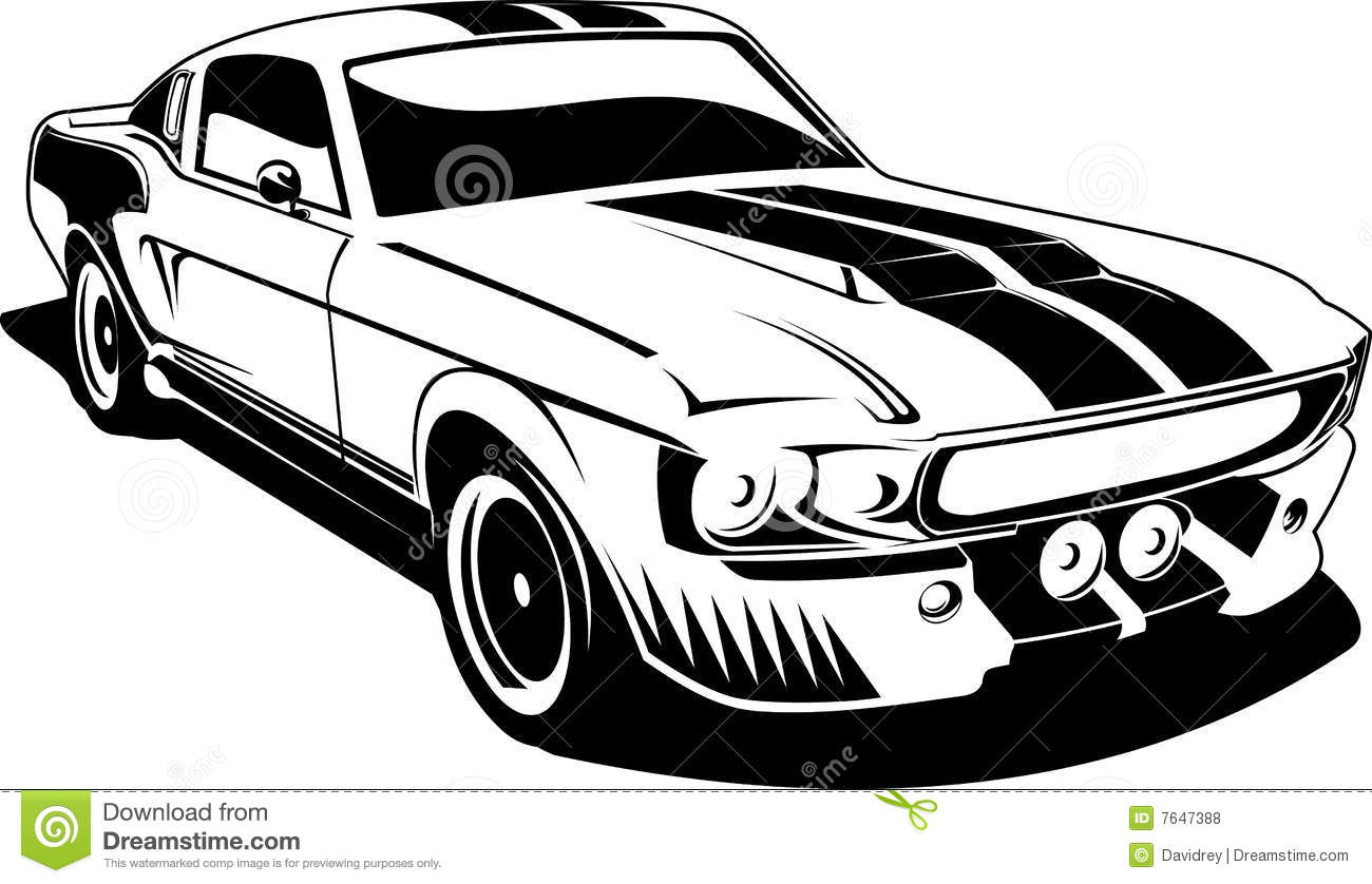 1300x838 Classic Car Clipart Black And White