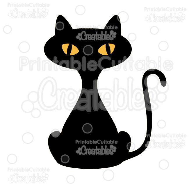 650x650 Halloween Black Cat Free Svg Cut File Amp Clipart