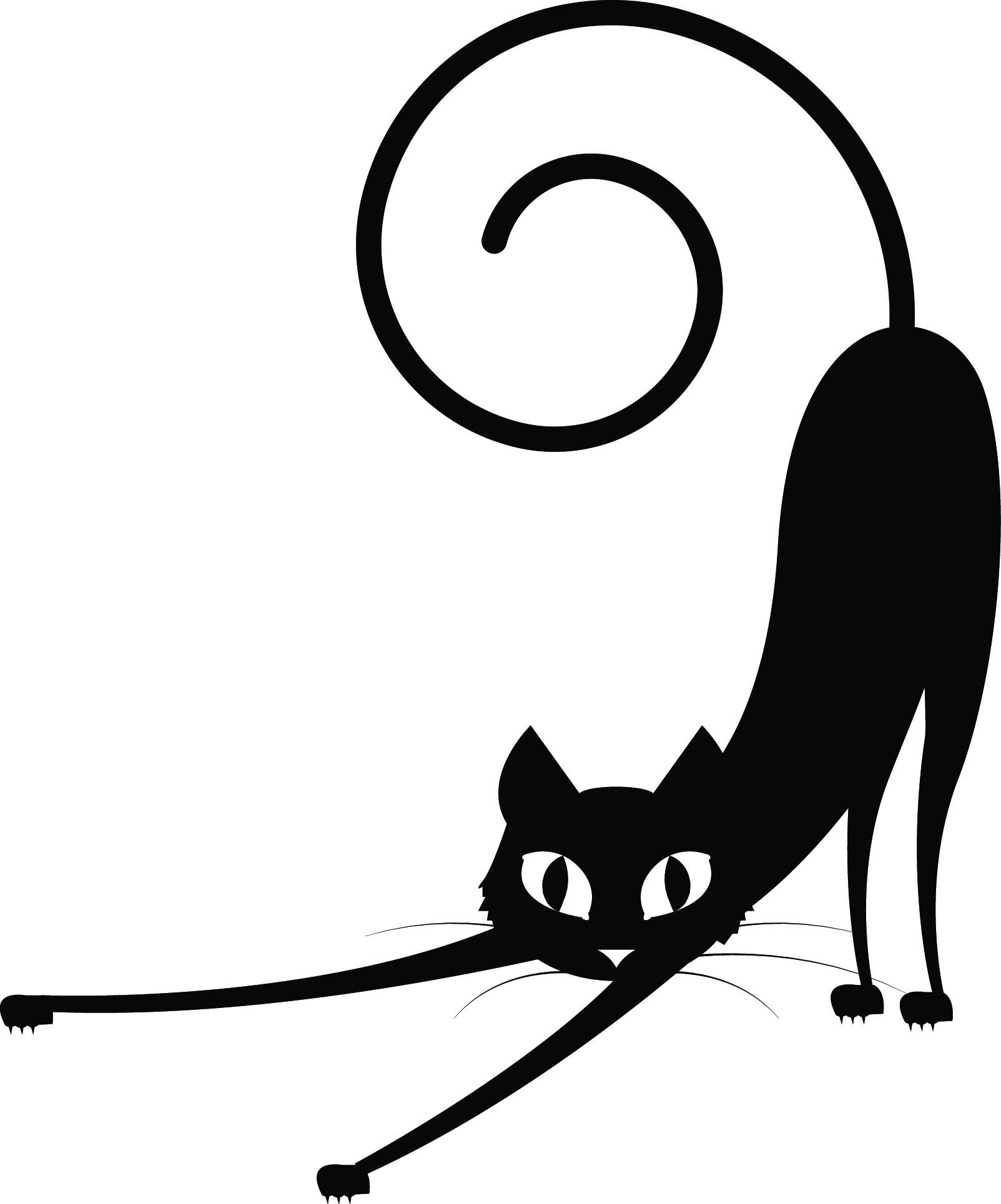 1603x1929 Black Cat Svg, Black Cat Halloween Svg. Cat Halloween Svg