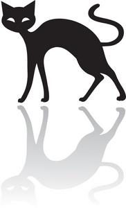 182x300 Free Black Cat Clipart Image 0071 0910 2205 0054 Computer Clipart