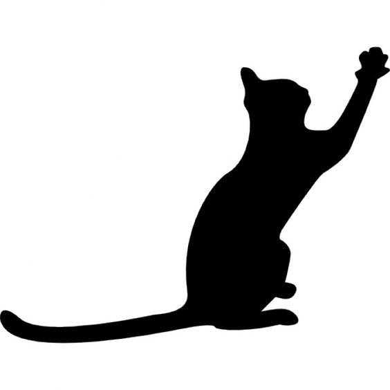 564x564 Cat Silhouette Clipart
