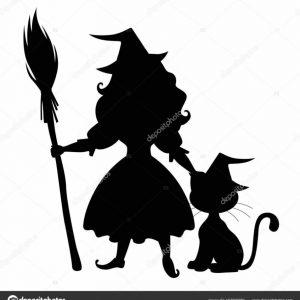 300x300 Home Design Fantastic Halloween Cat Silhouette Photographs Plan
