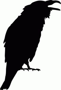205x300 Crows Silhouette Design, Crows And Silhouettes