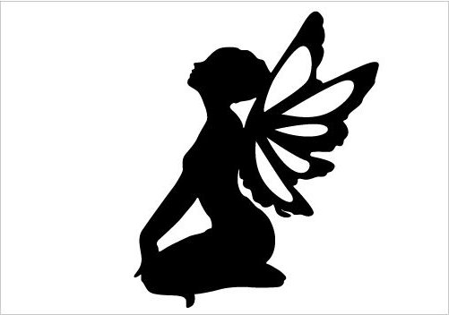 501x352 Fairy Silhouette Clip Art Many Interesting Cliparts