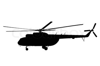320x213 Helicopter Silhouette Stock Vector Colourbox