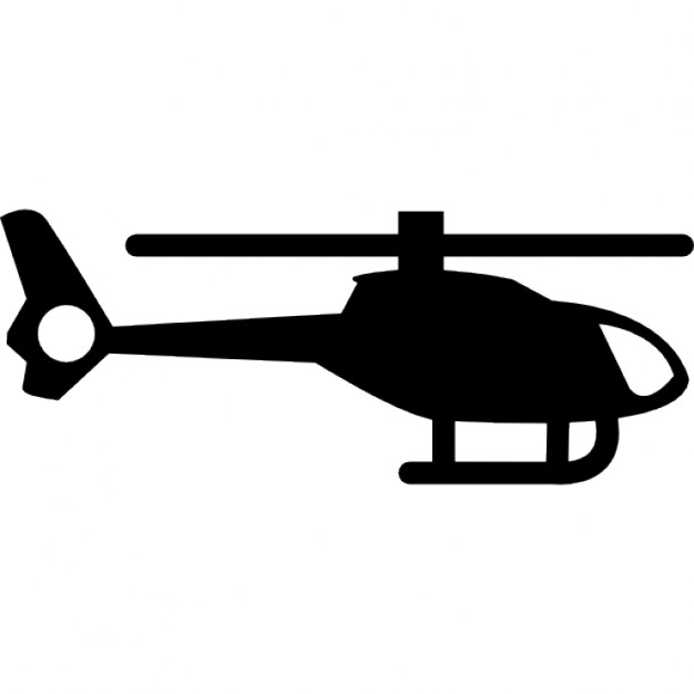 626x626 Helicopter Silhouette Icons Free Download