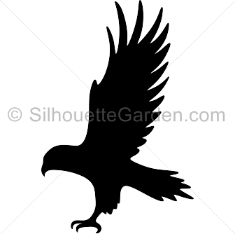 336x334 Hawk Silhouette Clip Art. Download Free Versions Of The Image