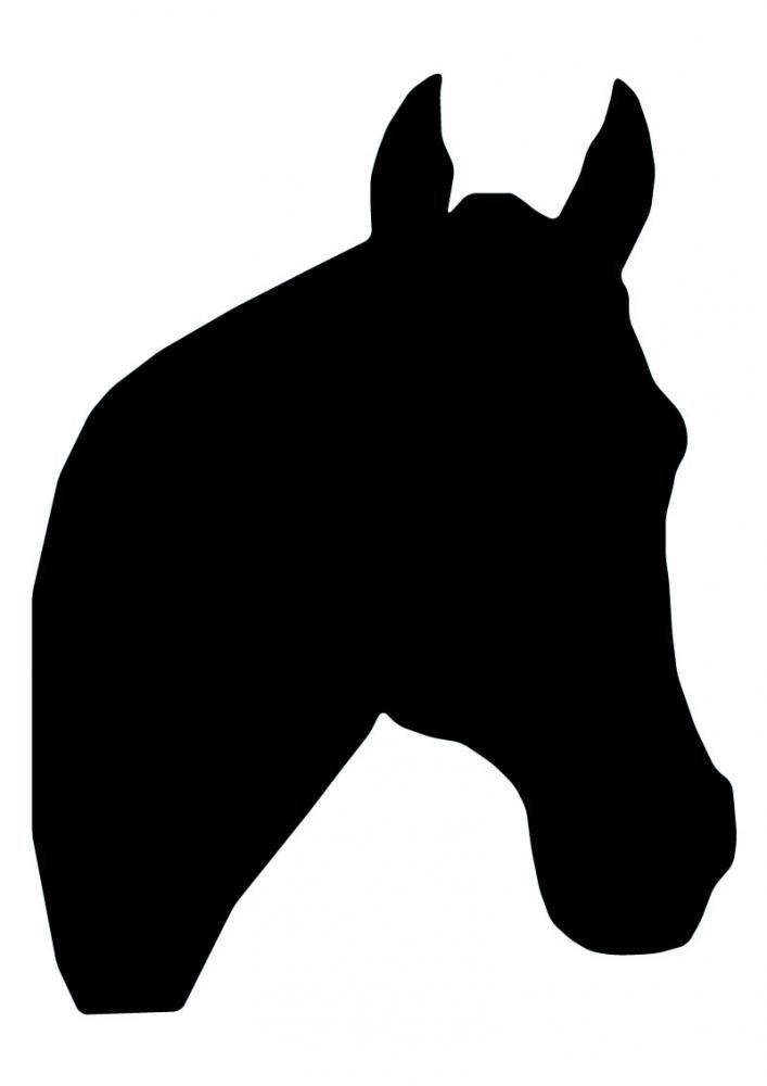 707x1000 Horse Head Silhouette