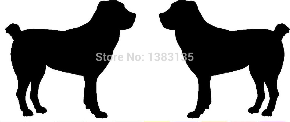 1000x422 Hot Sale 2 Central Asian Ovtcharka Dog (Rightampleft) Silhouette Car