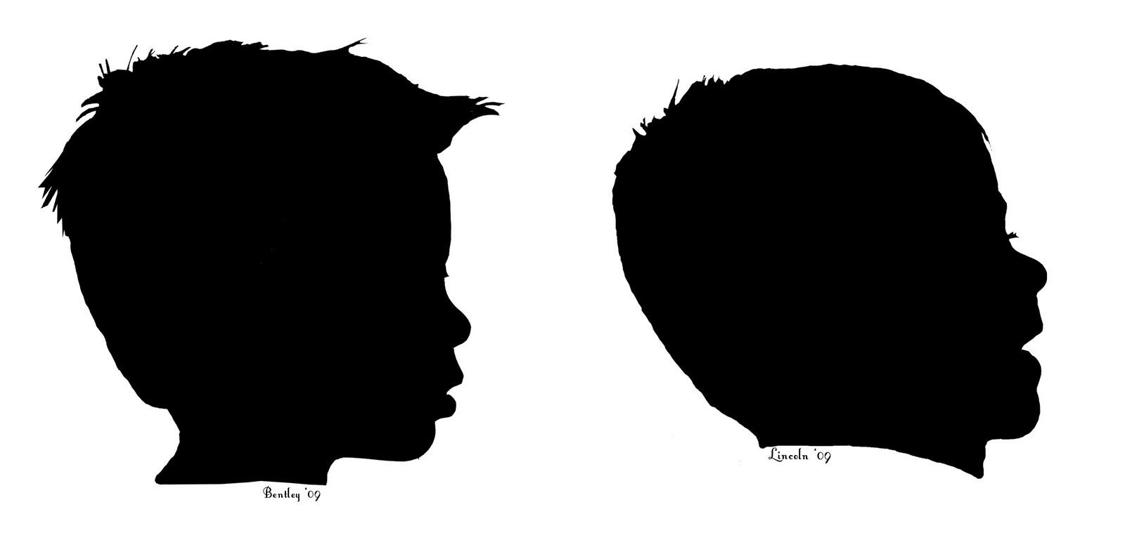 1600x789 Face Profile Silhouette Clip Art