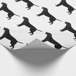 307x307 Labrador Retriever Wrapping Paper Zazzle