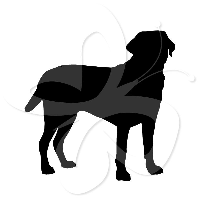 801x801 Labrador Silhouette Clip Art