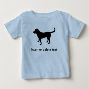 307x307 Black Lab Silhouette T Shirts Amp Shirt Designs Zazzle